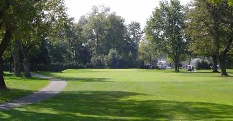 A view of hole #2 at Kokomo Country Club