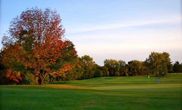A view of a green at Marion Elks Country Club
