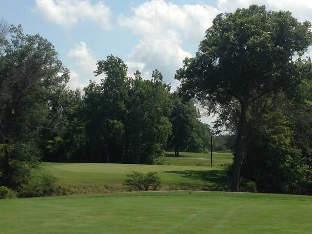 A view of a green at Meshingomesia Country Club