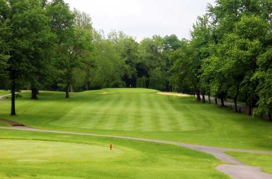 A view from a tee at Meshingomesia Country Club