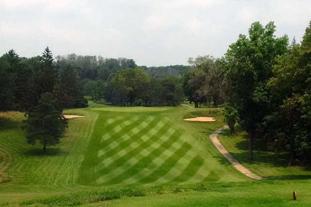 A view from a tee at Forest Hills Country Club