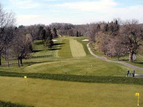 A view of a tee at Forest Hills Country Club