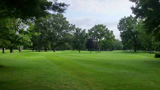 A view from a fairway at Bowlers Country Club