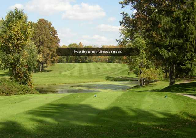 A view from The Fairways at Twin Lakes
