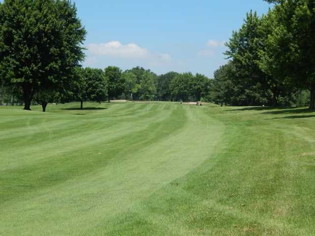A view from a fairway at Rozella Ford Golf Club