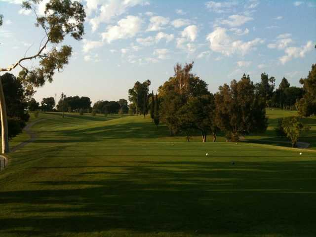 A view from La Mirada Golf Club