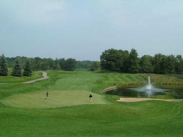 A view from Medalist Golf Club