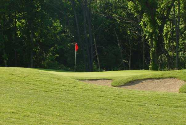 A view of the 3rd hole at Coyote Preserve Golf Club