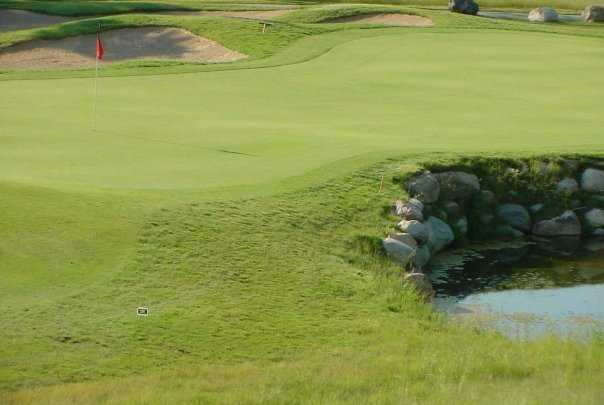 A view of hole #6 at Coyote Preserve Golf Club