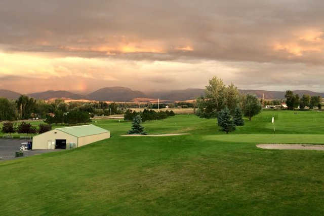 A view from Cottonwood Hills Golf Club
