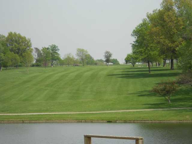 A view of a fairway at Ottawa Golf Course