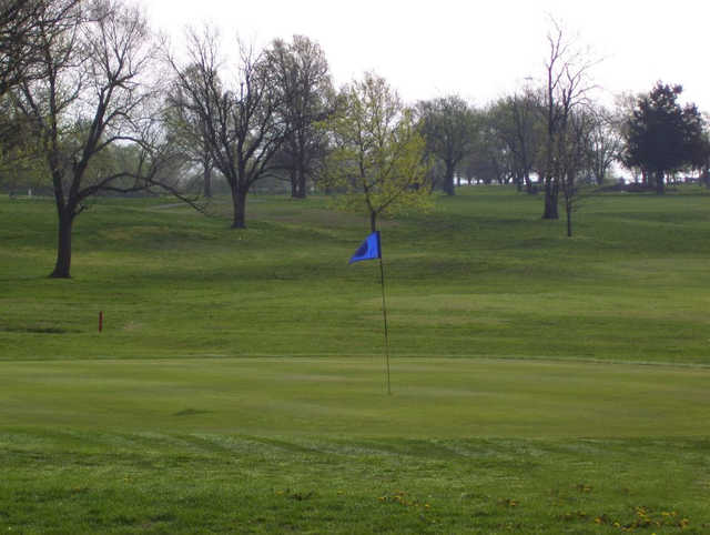 A view of a green at Ottawa Golf Course