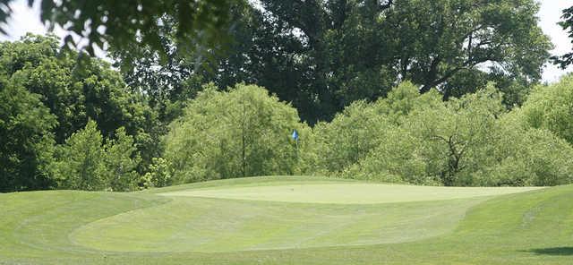 A view of a hole at Quail Ridge Golf Course