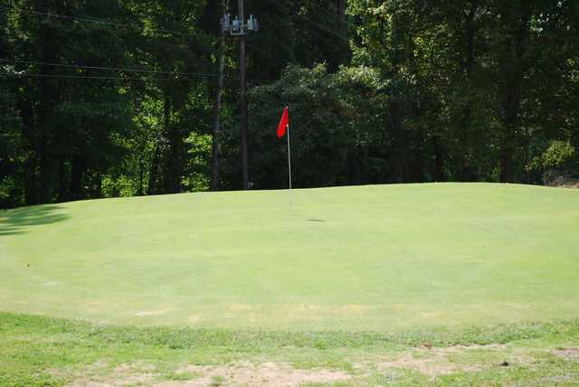 A view of a hole at Stearns Heritage Golf Course