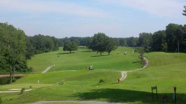 A view from Stearns Heritage Golf Course