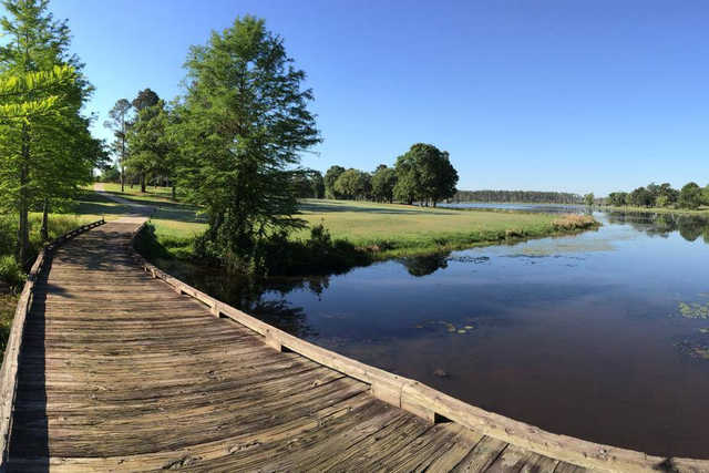 A view of fairway #2 at Money Hill Golf & Country Club