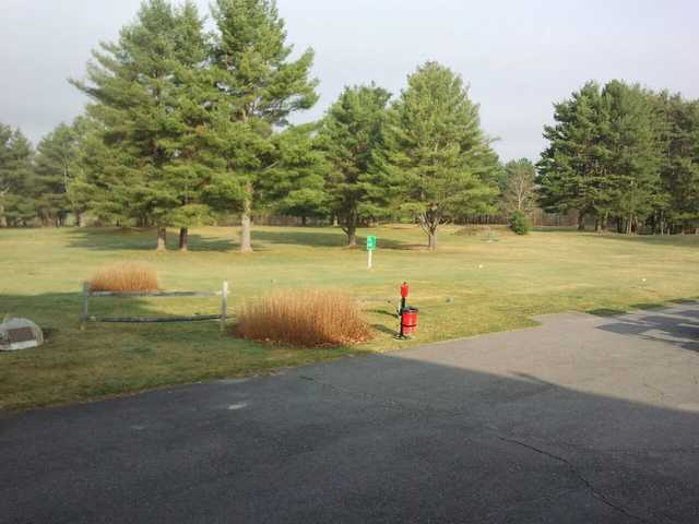 A view of the 1st tee at Johnson W. Parks Golf Course
