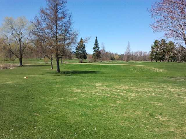 A view of a hole at Johnson W. Parks Golf Course