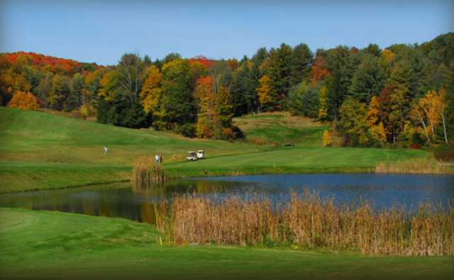 A fall view from Edge Hill Golf Course