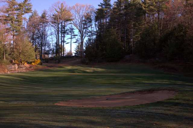 A view of hole #2 at Quail Hollow Country Club