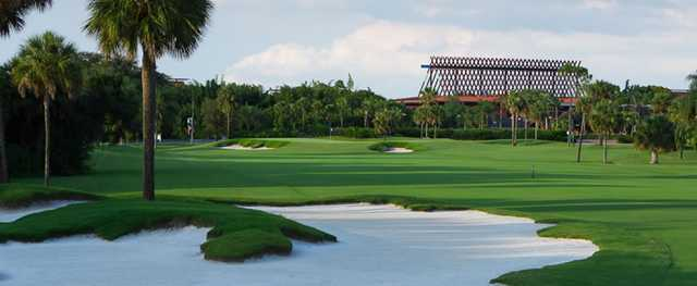 View from the 1st hole on Disney's Palm Course