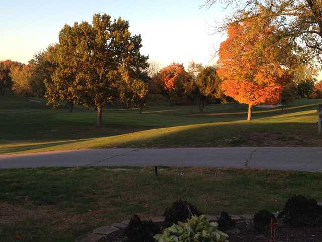 A fall view from Hills of Lenawee Golf Club & Banquet Center.