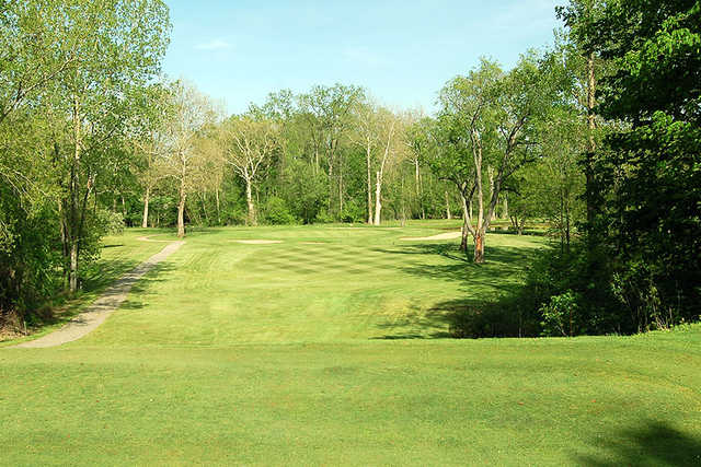 A view from tee #16 at Hills of Lenawee Golf Club & Banquet Center.