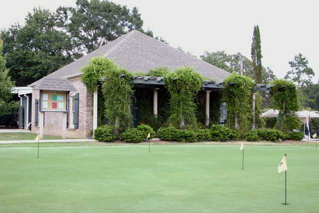 A view of the practice putting green at Fernwood Country Club