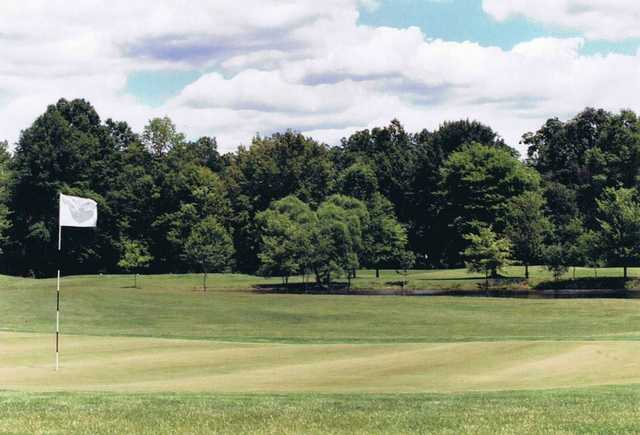 A view of a hole at Duck Creek Golf Course