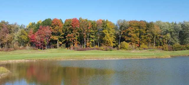 A fall view from Oak Ridge Golf Club
