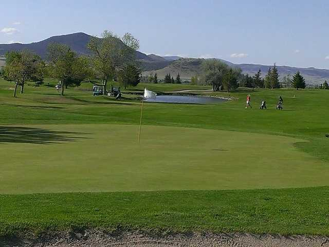 A view of a hole at Bill Roberts Golf Course