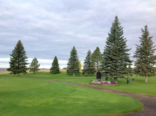 A view from Plentywood Golf Club