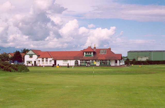 Scotscraig Golf Club - The Clubhouse ( Photo by Kiel Christianson )
