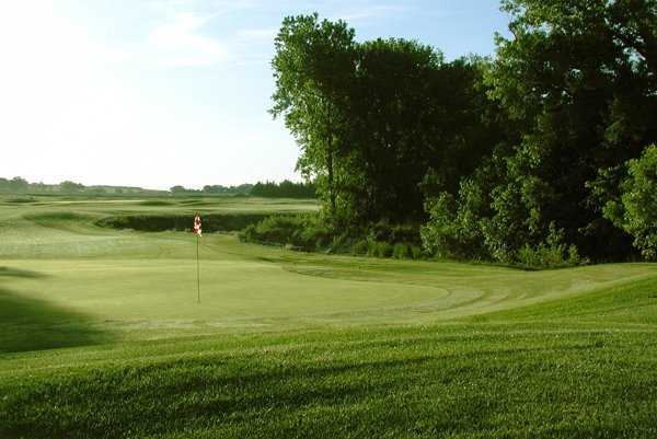 A view of a hole at Cross Creek Golf Links