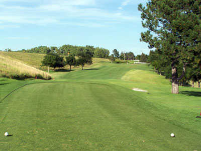 A view from the 8th tee at Lakeside Country Club