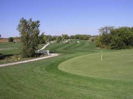 A view of the 3rd hole at Kirkman's Lakeview Golf Course