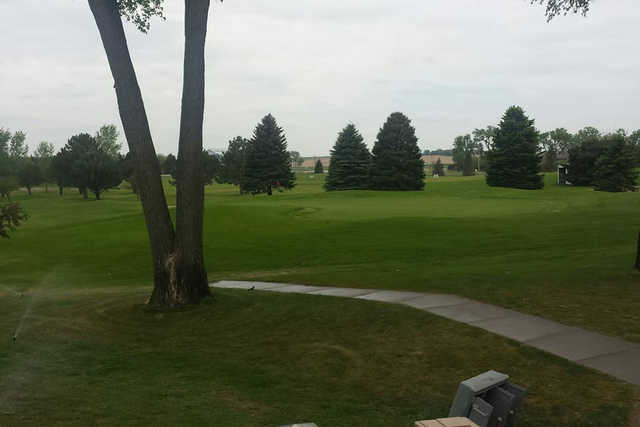 A view from Pierce Community Golf Course