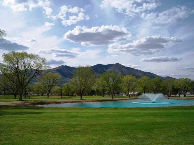 A view from Winnemucca Golf Course