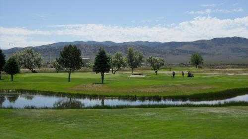A view over the water from Chimney Rock Golf Course