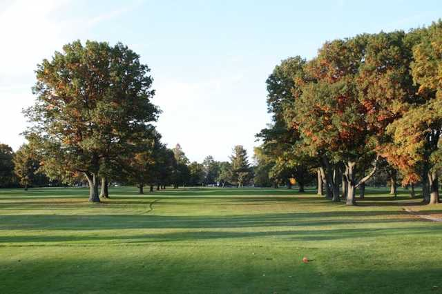 A view from tee #9 at Cadillac Country Club