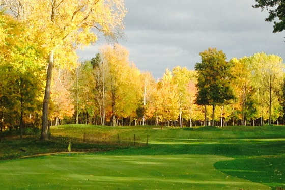 A fall day view from Hidden Harbour Golf Course