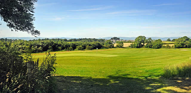 View of a green at Mearns Castle Golf Academy