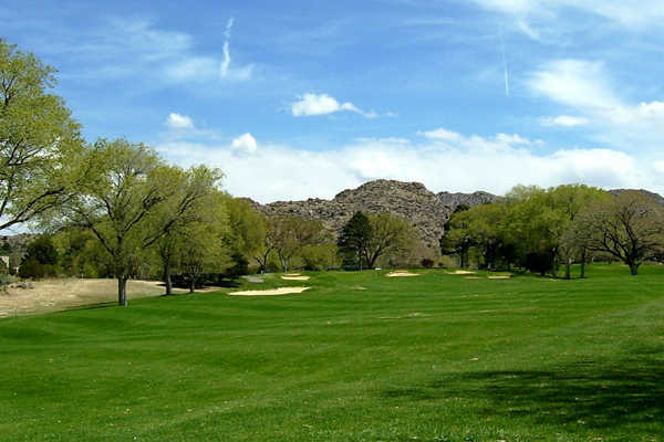 A view of a fairway at Canyon Club