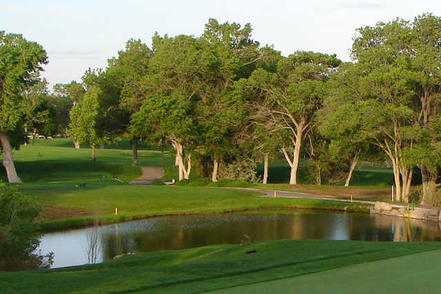 A view from a green at Canyon Club