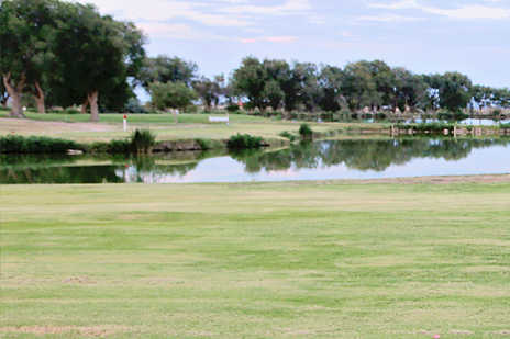 A view over the water from Roswell Country Club