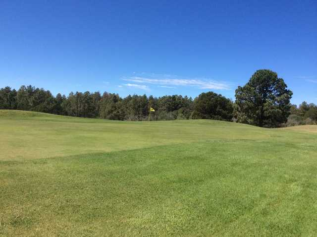 A view of hole #4 at Timberon Golf & Country Club