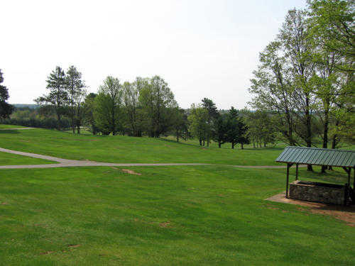 A view from Crystal View Golf Course