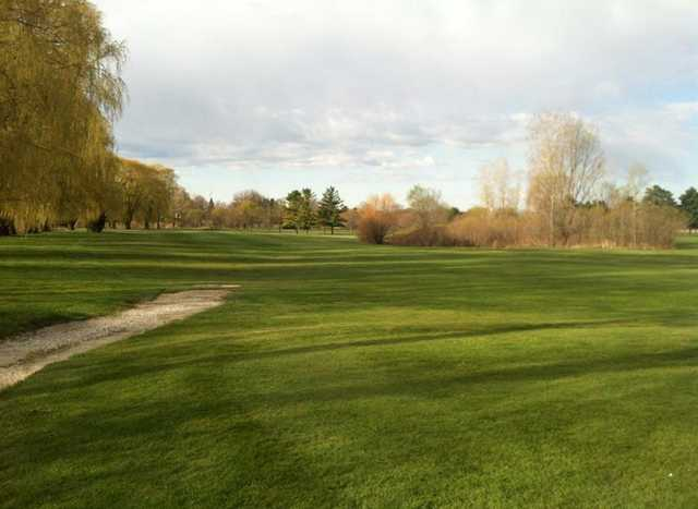 A fall view from Willow Ridge Golf