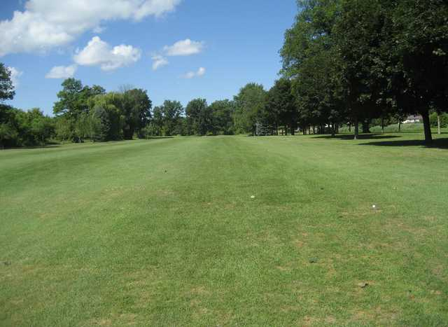 A view of a fairway at Willow Ridge Golf