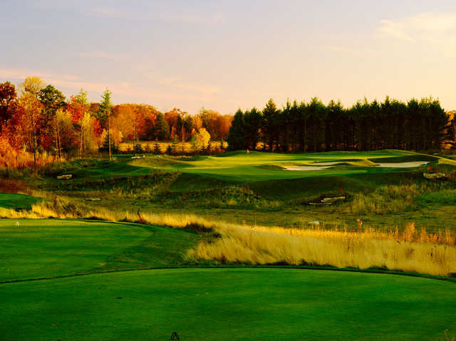 A view of the 5th hole at Horseshoe Bay Golf Club